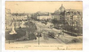 ANVERS , Belgium,PU-06;Place de la Commune,vue a vol d'oiseau