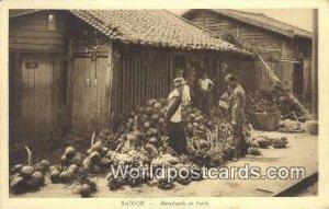 Merchads de fruits Saigon Vietnam, Viet Nam Unused