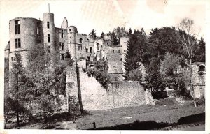 Chateau de Beaufort, Real Photo Unused