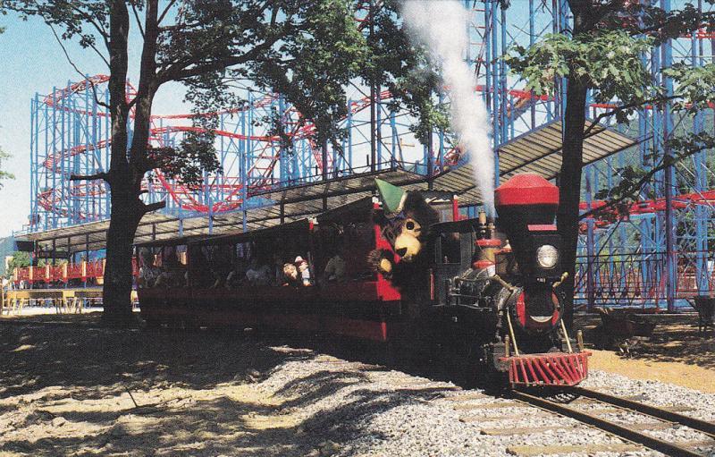 TIPTON , Pennsylvania, 50-60s ; Miniature Train & Roller Coaster