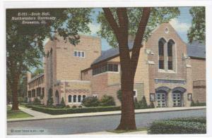 Scott Hall Northwestern University Evanston IL postcard