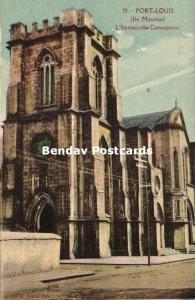 mauritius maurice, PORT LOUIS, Immaculate Conception Church (1920s)