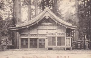 NIKKO, Japan, 1900-1910´s; The Stable For The Sacred Poney