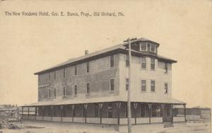 OLD ORCHARD BEACH , Maine , 1911 ; The New Vendome Hotel