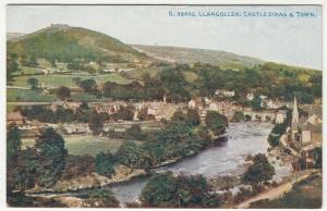 Denbighshire; Llangollen, Castle Dinas B 39402 PPC By Photochrom, 1924 PMK