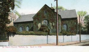 VA - Norfolk, St. Paul's Church