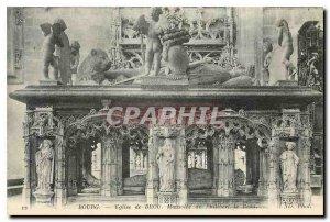 Old Postcard Bourg Brou Church Mausoleum of Philibert le Beau