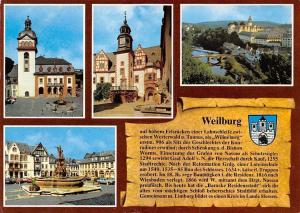Weilburg Lahn, Schlosskirche Marktplatz Town Hall Church River Bridge