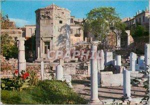 Athens Postcard Modern Clocks Kyrristos (Tower Venis) (first Century has C)