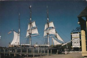 Connecticut Mystic Seaport Three Masted Charles W Morgan 1994