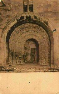 The Porch Malmesbury Abbey Entrance Postcard