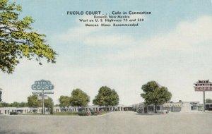 ROSWELL , New Mexico , 1930-40s ; Pueblo Court