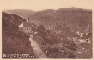 Belgium La Roche En Ardenne Chapelle St Marguerite Fond de Goette