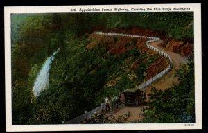 Appalachian Scenic Hwy crossing Blue Ridge Mountains Unused