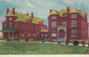 BELLEVILLE, Ontario , 1900-10s; City Hospital