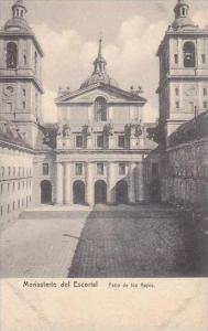 Spain Monasterio del Escorial Patio de los Reyes