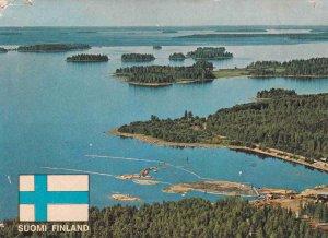 POSTAL B4445: FINLANDIA SUOMI. LAGO