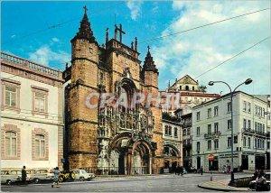Postcard Modern Coimbra The church of Santa Clara