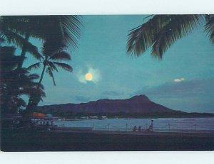 Pre-1980 NATURE SCENE Waikiki - Honolulu Hawaii HI AD3944