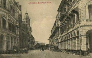 straits settlements, SINGAPORE, Robinson Road, Dutch Indies Trade Bank (1910s)