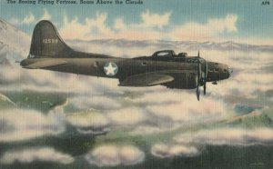 U.S. Army Boeing Flying Fortress Airplane , 1940s