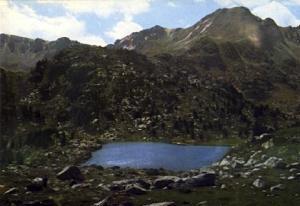 POSTAL 56898: Valls d Andorra lago Envalira y monta? de Pessons