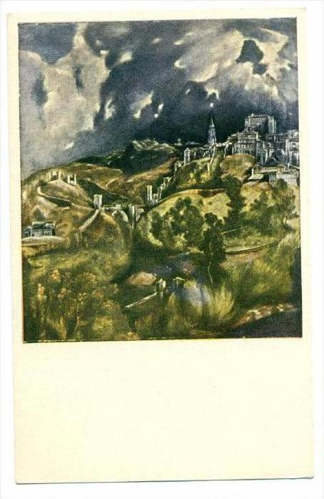 Toledo Spain by El Greco, 1910s