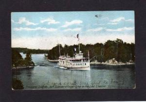 NY Thousand Islands Steamer Steamship Islander NEW YORK