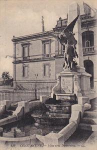 Algeria Constantine Monument Damremont
