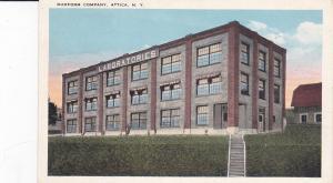 ATTICA, New York, 1900-1910's; Duoform Company