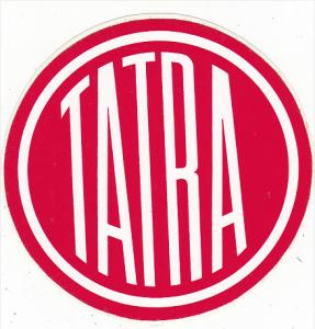 TATRA TEAM MOTOKOV MANUFACTURING LABEL CZECHOSLOVAKIA