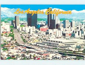 Unused Pre-1980 AERIAL VIEW Los Angeles California CA A4443