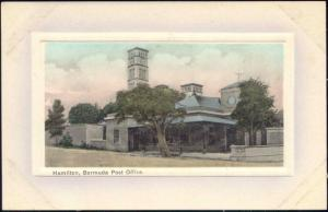 bermuda, HAMILTON, Post Office (1910s)