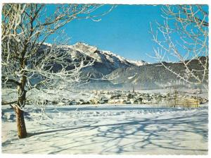 Wintersportplatz Abtenau im Lammertal, mit dem Tennengebirge, Austria 1975 used