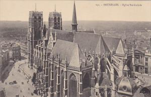 Belgium Brussels Eglise Dainte Gudule
