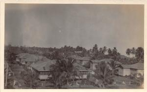 E48/ Foreign RPPC Postcard Central America 1922 Honduras Birdseye Village Homes