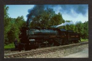PA Canadian Pacific Railroad KINGSLEY PENNSYLVANIA PC
