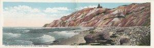 MARTHA's Vineyard , Massachusetts , 00-10s ; Gay Head Cliffs & Lighthouse