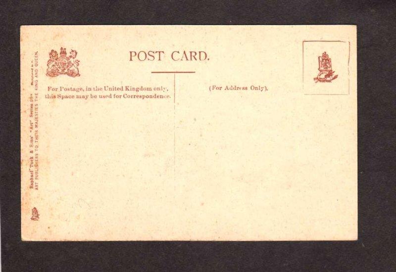 Ireland UK Colleen Bawn Rock Killarney Postcard Tuck & Sons United Kingdom