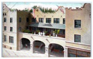 Early 1900s Hotel Idaho, Coeur d' Alene, ID Postcard