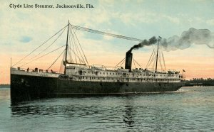 Clyde Line - SS Arapahoe at Jacksonville