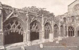 Kent, Canterbury Cathedral: The Cloisters
