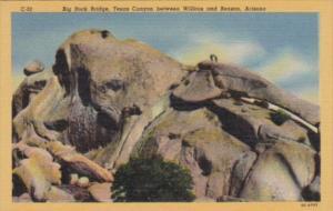 Arizona Big Rock Bridge Texas Canyon Between Wilcox and Benson Curteich