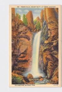 VINTAGE POSTCARD NATIONAL STATE PARK YELLOWSTONE TOWER FALL #4 AT TOWER JUNCTION
