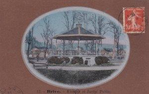 Brive la Gaillarde , France ,  1900-10s ; Kiosk in Park / Kiosque et Jardin P...