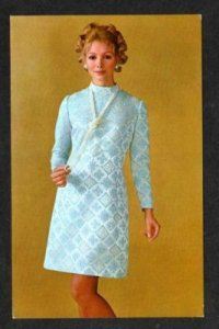 Beeline Fashion Style Show Clothes Advertising AD Invitation to show Postcard