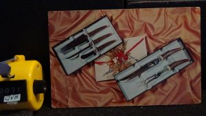 Lifetime Cutlery Sheffield English Carving & Hostess Serving Advertising Postcrd