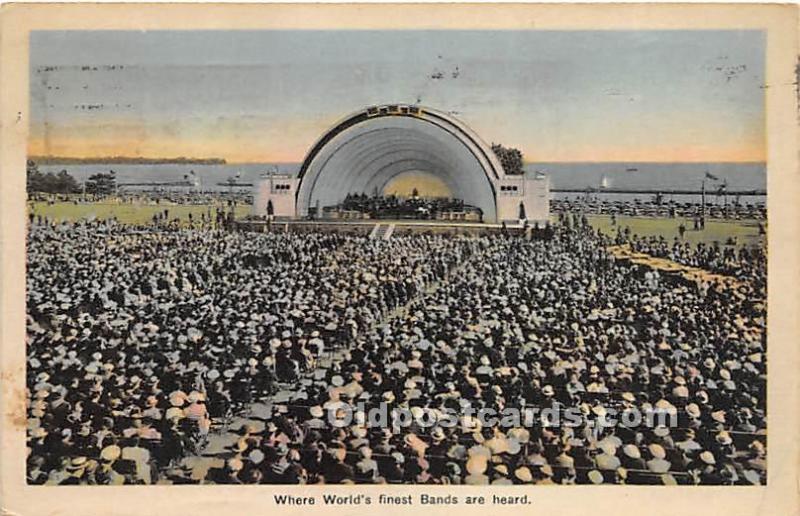Band Shell Toronto, Ontario, Canada 1937