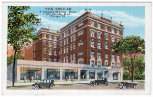 Chicago, Ill, The Seville, A Furnished Apartment Hotel