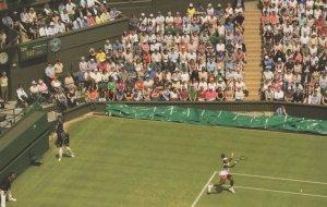 Wimbledon Centre Court Tennis Grounds Roof Extension Postcard